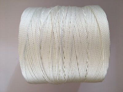 LINEN FLAX NYLON WAXED UPHOLSTERY HAND SEWING SLIP STITCHING BUTTONING TWINE