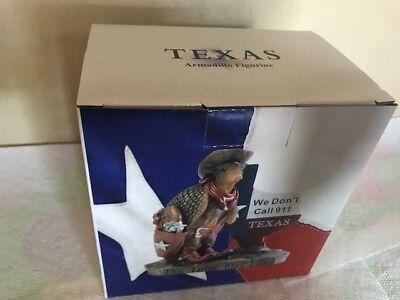 Texas Souvenir Table Top Armadillo Memo Clip