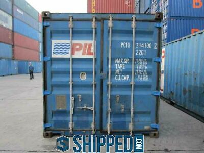 USED 20FT SHIPPING CONTAINER FOR ALL STORAGE NEEDS! WE DELIVER in SEATTLE, WA 4