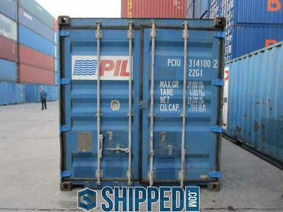 USED 20' SHIPPING CONTAINER for HOME BUSINESS STORAGE WE DELIVER NEW ORLEANS, LA 6