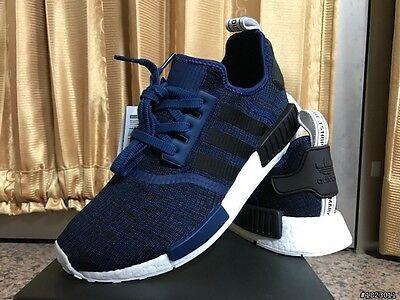 adidas nmd navy blue mens
