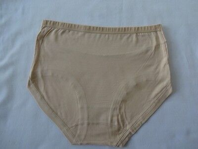 Soft Silky Antibacterial Absorbent 2 Prs Bamboo Knickers Briefs Pants UK 3