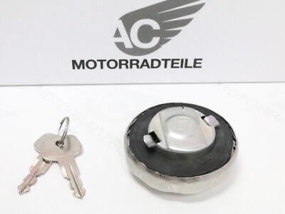Honda CB 72 77 92 100 K 125 S fuel cap gas tank stainless steel lockable afterma