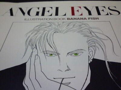 Akimi Yoshida Angel Eyes Banana Fish Illustrations Art Renouvellement Édition