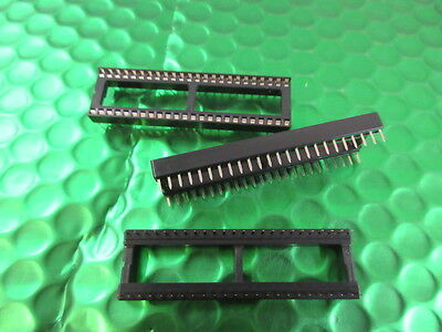 IC Socket 48 pin 0.6'' Low profile Quality UK made. **5 per sale** 99p each 2