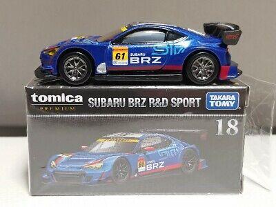 Tomica Premium No.18 Subaru BRZ R/&D SPORT 1:60 Takara Tomy