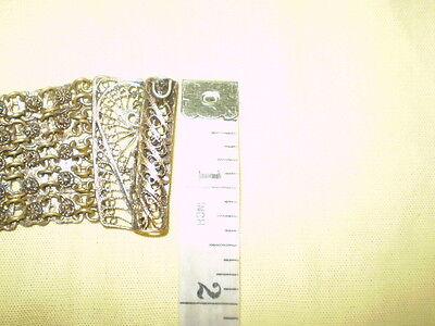 Old  RARE HANDMADE-ANTIQUE -BRACELET  filigree Handmade Bronze 12