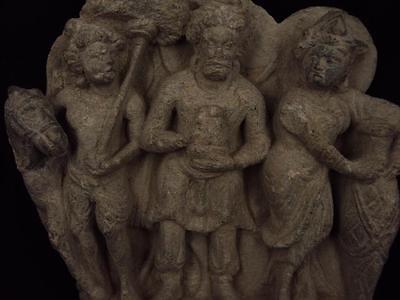 Ancient Large Size Schist Stone Stupa Panel Gandharan/Gandhara 100 AD  #SG2103 2