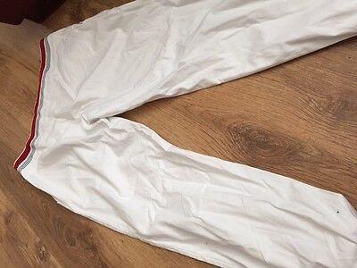 girls age 14 SIMONETTA white cotton trousers good condition 100% authentic 3