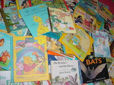Lot of 20 Childrens Reading Bedtime-Story Time Kids BOOKS RANDOM MIX UNSORTED 10