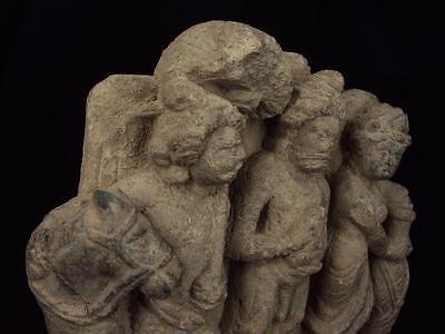 Ancient Large Size Schist Stone Stupa Panel Gandharan/Gandhara 100 AD  #SG2103 8