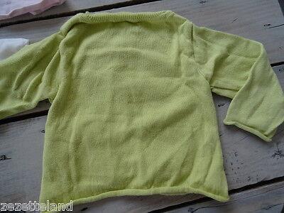 Lot vêtements OBAÏBI 1 gilet rose clair et 1 anis + polo Taille 6 mois / 67 cm 8