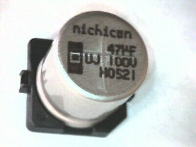 10x 470uF 470µF SMD Elkos *div zur Auswahl* Kondensatoren Alu Caps Capacitors