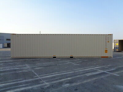 Double Door(DD) - 40' HC New / One Trip Shipping Container in El Paso, TX 7