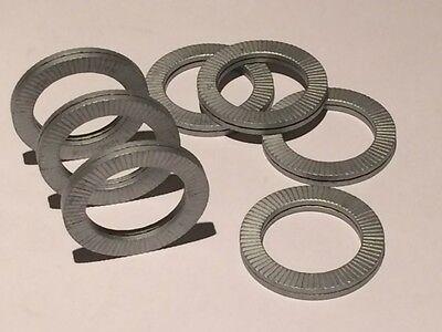 - Pkg of 25 Delta Protekt 1350 Nord-Lock 1350 Wedge Locking Washer M33 Carbon Steel 1-1//8