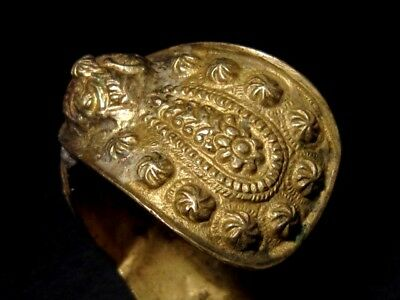 FASCINATING 1800 – 1900's. ANTIQUE FERTILITY BRONZE BRACELET 8