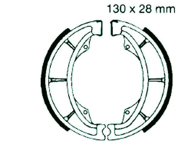 Bremsbacken Unilli CX Aeon Cobra Dinli Sachs 50 - 100 hinten 2
