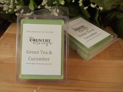 Choose from 59 Scents-2wks of Fragrance//Clamshell Soy Wax Clamshell Melt Tarts