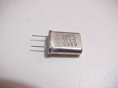 2 PACK OF HAM RADIO CRYSTALS FOR THE OLD BOATANCHOR 40//80M CW TRANSMITTERS