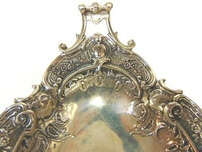 Vintage Antique Art Nouveau Ornate Silverplate Serving Dish 3