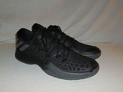 1f190fc3b7d4e ... Adidas Harden B E Bounce low Black GREY Basketball Sneakers MEN S 15  (RARE