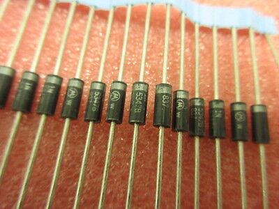 1N5347B Diode Zener Single 10V 5/% 5W DO-15 MOTOROLA UK STOCK