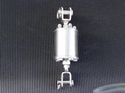Fockroller/Furler+Toppwirbel  aus V2A 9 cm Durchm. 3 mm Mat.Stärke 2