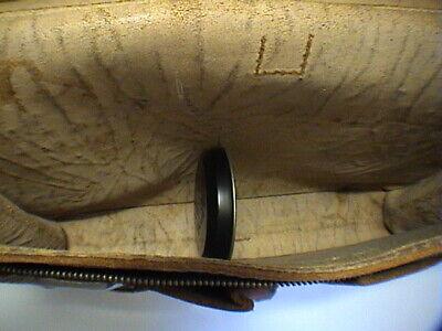 1717/  Leder Aktentasche Tasche Antik Vintage Accessoires 8