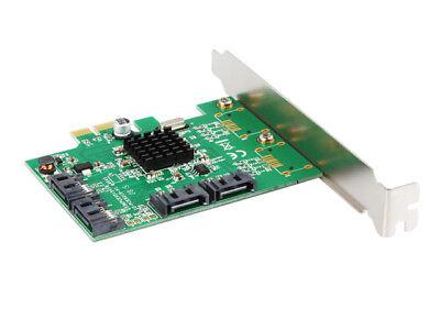 IOCrest 4 Port SATA III (6Gb/s) PCI-e Controller Card (Low Profile | Non RAID) 3