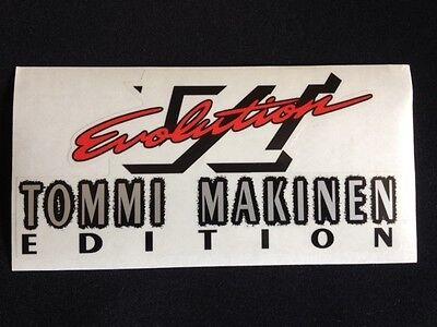 Mitsubishi Evo Tommi Makinen and Evo VI rear boot decal five options! 3