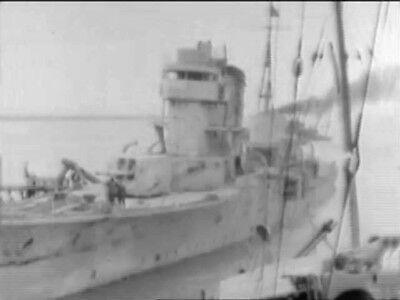 6-Captured Japanese Navy Fleet WW2 Films Submarine I-30 6