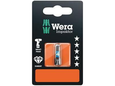 Wera WER073945 840//4 Impaktor Insert Bit Hex-Plus 5mm x 50mm Carded