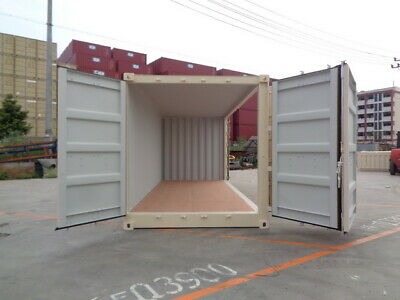 Open Side (OS) - 20' New / One Trip Shipping Container in Atlanta, GA 3