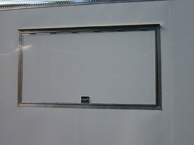 "New Concession Trailer Serving Window, 40 "" X 74""    ""LIFETIME WARRANTY""! 2"