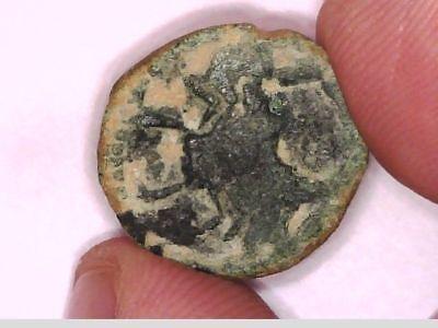 Roman Empire Emperor Augustus Zodiac Rare Scorpion Capricorn Provincial Coin 6