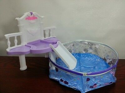 Gloria, Barbie Size Doll House Furniture/(2678) Water Fall Fantasy Pool Set 2