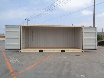 Open Side (OS) - 20' New / One Trip Shipping Container in Atlanta, GA 5
