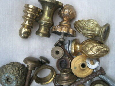 Job lot of assorted vintage clock parts 2