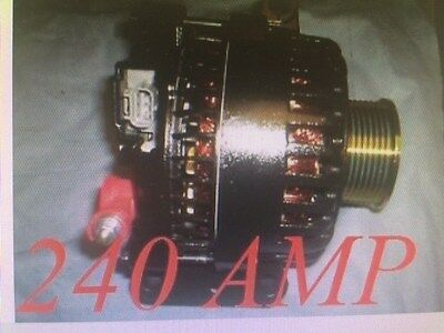 Ford F Series Pickup Van 6.0L DIESEL Alternator Excursion 240 HIGH AMP 2005-2003 3