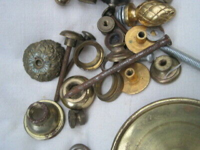Job lot of assorted vintage clock parts 4