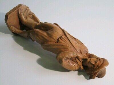 Estatua de Terracota Figura Manzoni Escultura Renzo Altura 46CM 5