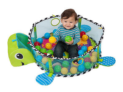 Turtle Baby Gym 3 In 1 Activity Playmat Ball Pit Amp Toys