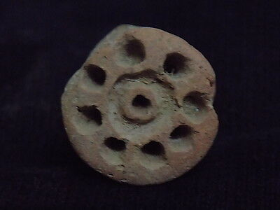 Ancient Teracotta 2 Sided Seal Indus Valley 2000 BC      #SG8697 4