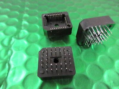Through Hole Mounting PLCC32 PIN / WAY IC Socket Through Hole Mounting  *5 per* 2