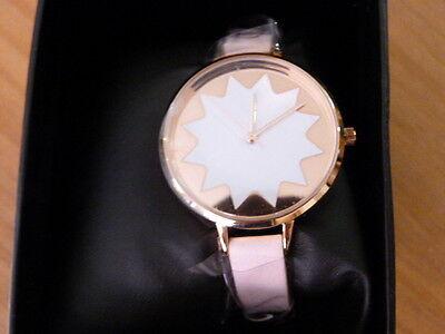 sélection premium 9dbf0 58a5b MONTRE FEMME ASOS bracelet cuir rose