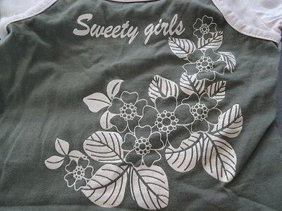 Ensemble jupe rose TAPE A L'OEIL + t-shirt kaki et rose imprimé Taille 3 ans 6
