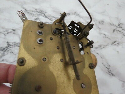 Vintage German 8 Day Striking Clock Movement For Spares Or Repair (Lot 5) 2