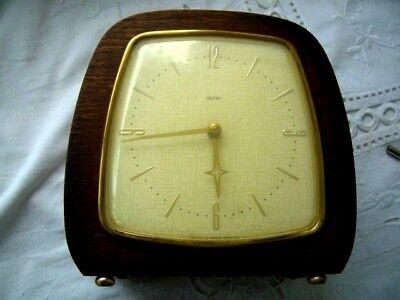 Vintage Art Deco 8-Day Floating Balance Mantel Clock-working-keeps good time 2