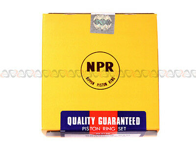 NPR Piston Rings for 89-94 Mitsubishi Eclipse Non /& Turbo 2.0L