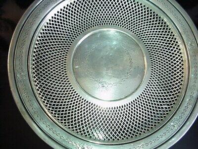 George A. Henckel & Co. Sterling Silver Pierced Bowl 1900's 3
